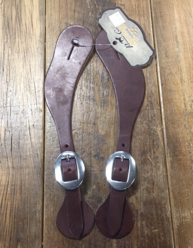 Professional's Choice Professionals Choice Spur Straps HL Chocolate