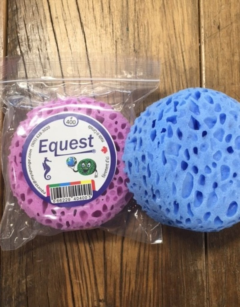 Equest Small Round Sponge