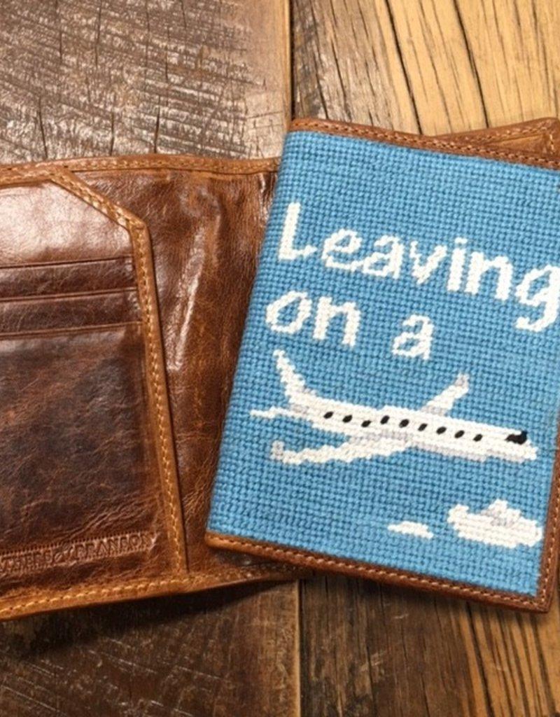 Smathers & Branson Smathers & Branson Leaving on a Plane Passport Case