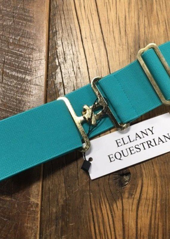 Ellany Equestrian Ellany Elastic Turquoise Stable Belt