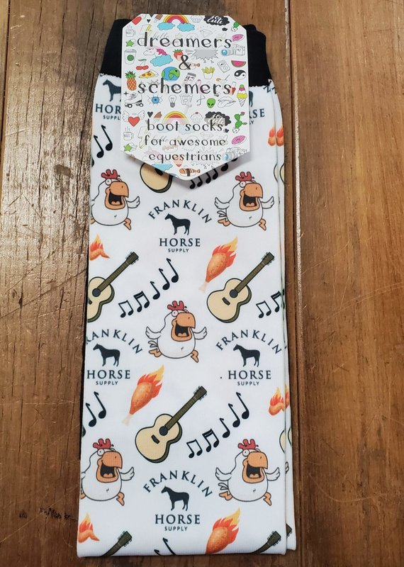 Dreamers & Schemers Dreamers and Schemers Nashville Hot Boot Socks
