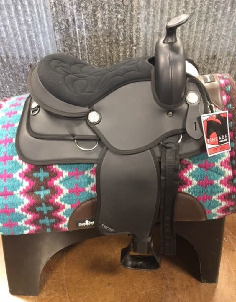 Kincade Kincade Redi Ride Kid's Synthetic Western Saddle 14