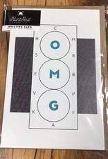 Hunt Seat Paper Co. OMG Dressage Card