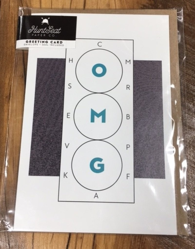 OMG Dressage Card