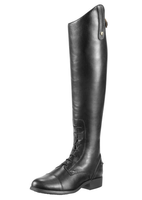 Ariat Ariat Men's Heritage Contour Zip Field Boot Black