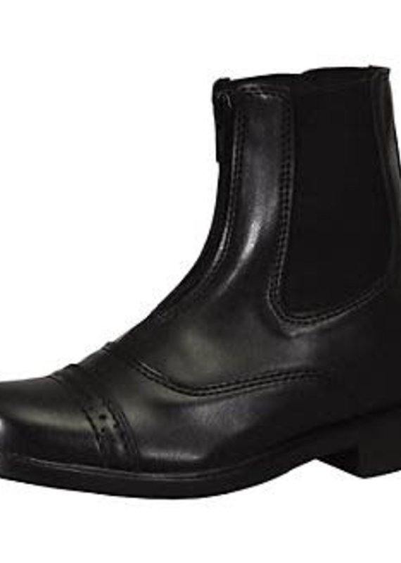 Tuffrider Tuffrider Women's Starter Black Zip Paddock Boots