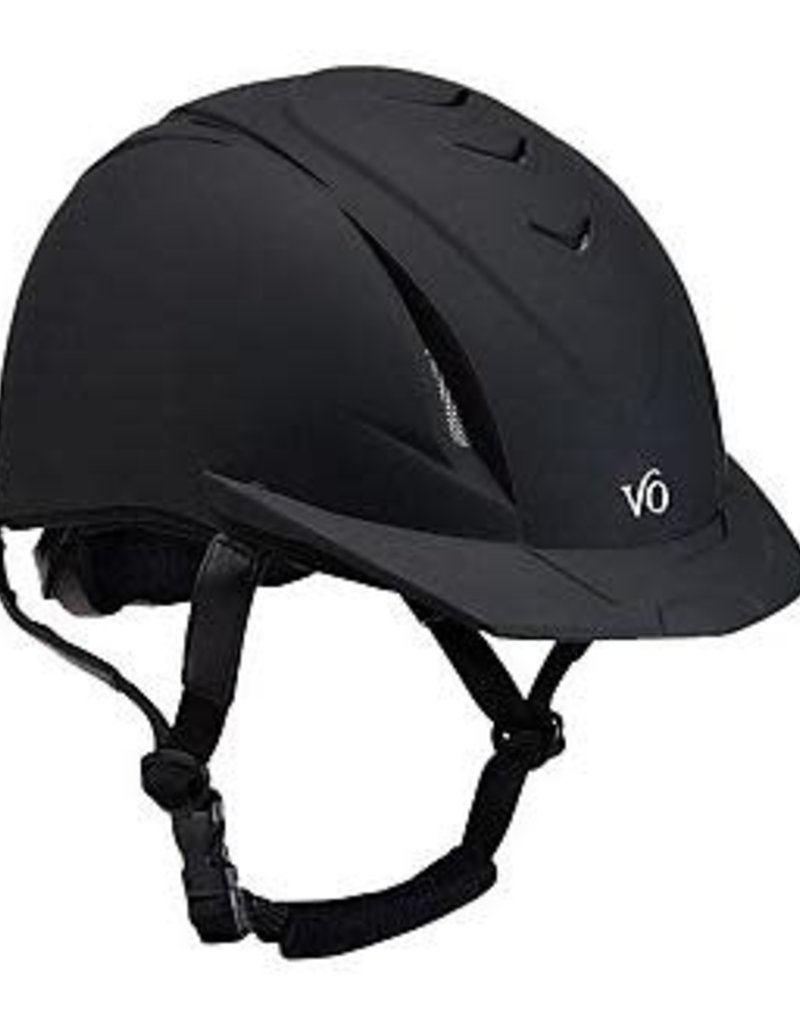 Ovation Ovation Black With Black Vents Deluxe Schooler Helmet