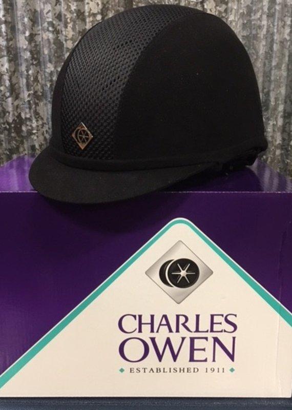 Charles Owen Charles Owen ASTM Black AYR8+ Helmet