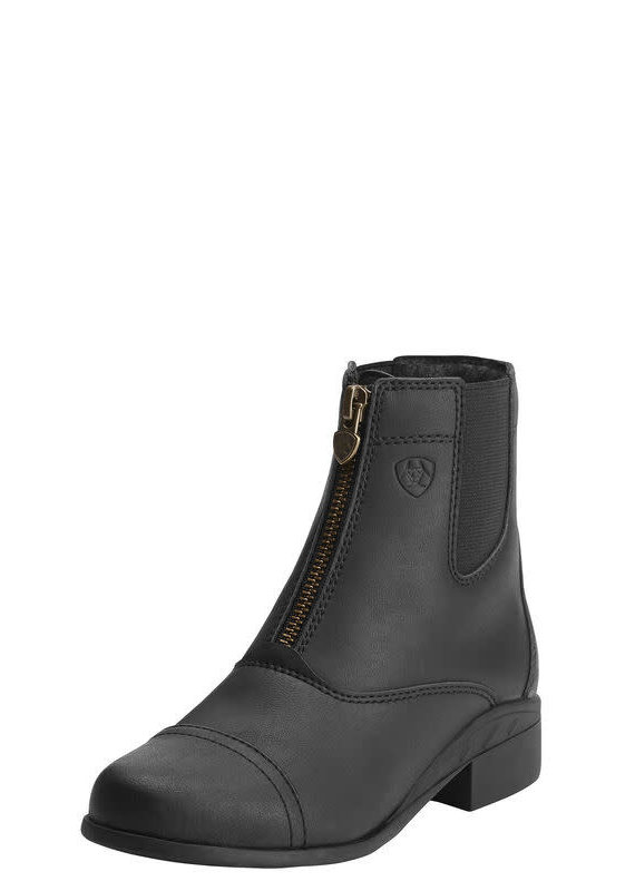 Ariat Ariat Youth Black Scout Zip Paddock Boots