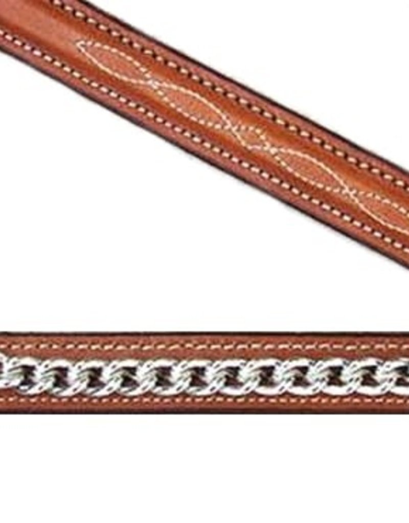 """Edgewood Edgewood Fancy-Stitched Raised Chain Cavesson 5/8"""""""