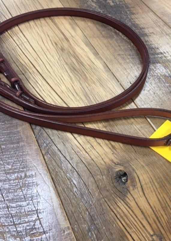 "Edgewood Edgewood Flat Reins 1/2"" Pony"