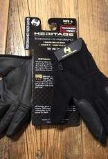 Heritage Gloves Heritage Performance Fleece Black Gloves