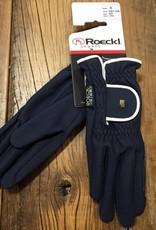 Roeckl Roeckl Lona Navy With White Trim Gloves