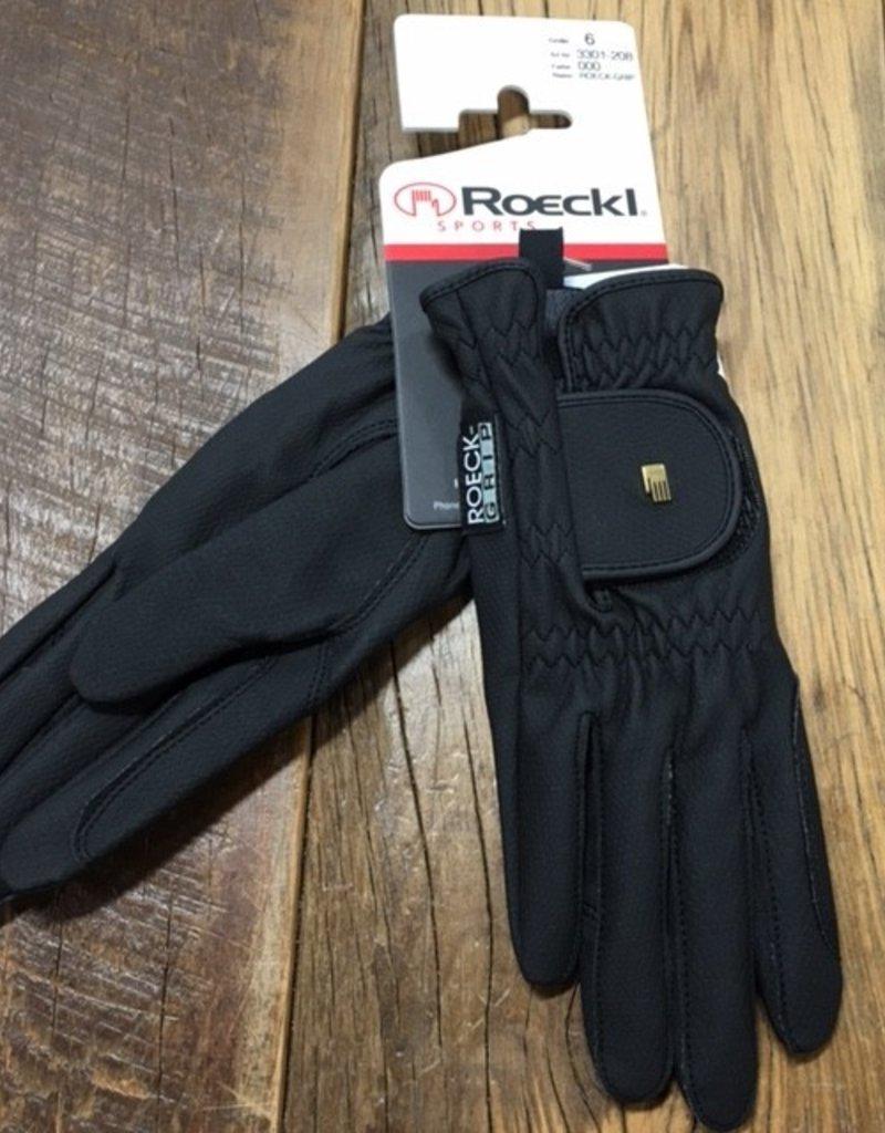 Roeckl Roeckl Grip Black Gloves