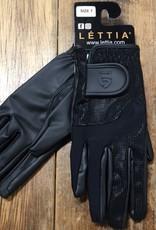 Lettia Lettia Sicily Black Show Gloves