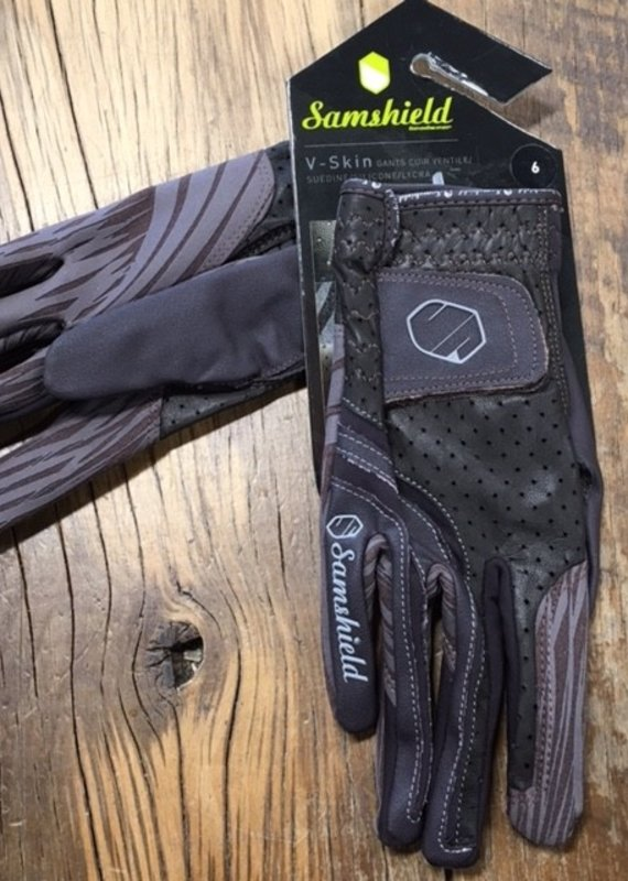 Samshield Samshield V-Skin Brown Show Gloves