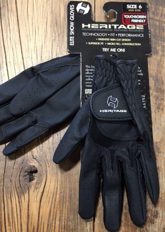 Heritage Gloves Heritage Elite Black Show Gloves