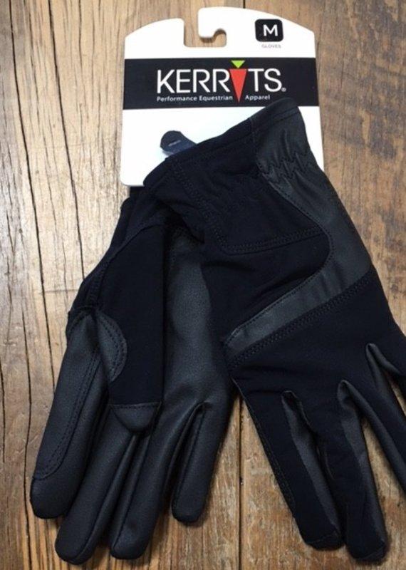 Kerrits Kerrits Icefil Black Gloves