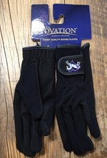 Ovation Ovation Youth Heart And Horse Black Gloves