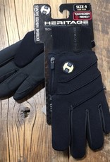 Heritage Gloves Heritage Youth Extreme Black Winter Gloves