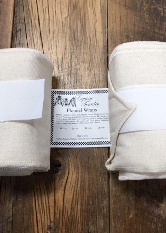 Equine Textiles Equine Textiles Standing Wrap Tan Flannel