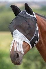 Shires Shires Pony Fine Mesh Fly Mask With Nose Fringe