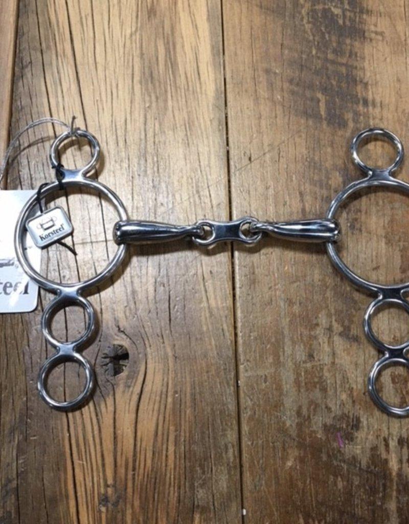 Korsteel Korsteel 3 Ring Dutch Gag Bit