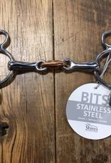Shires Shires 2 Ring Copper Lozenge Gag Bit