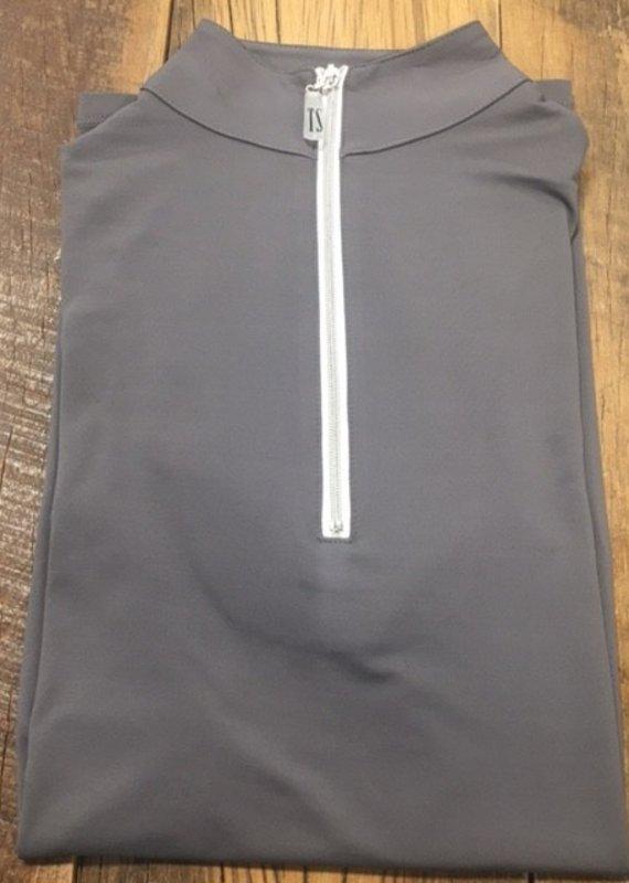 The Tailored Sportsman The Tailored Sportsman Ladies Icefil Short Sleeve Titanium/ Silver White