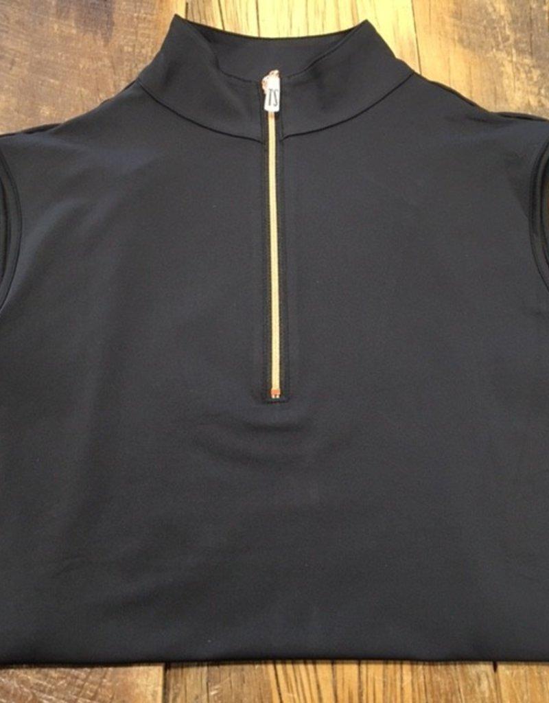 The Tailored Sportsman The Tailored Sportsman Ladies Icefil Sleeveless Black/ Rose Gold