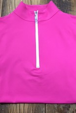 The Tailored Sportsman The Tailored Sportsman Ladies Icefil Sleeveless Barbie Pink/ White