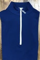 The Tailored Sportsman The Tailored Sportsman Ladies Icefil Long Sleeve Estate Blue/ White
