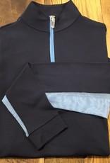The Tailored Sportsman The Tailored Sportsman Ladies Icefil Long Sleeve Navy/ Hydrangea