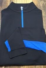 The Tailored Sportsman The Tailored Sportsman Ladies Icefil Long Sleeve Black/ Marine