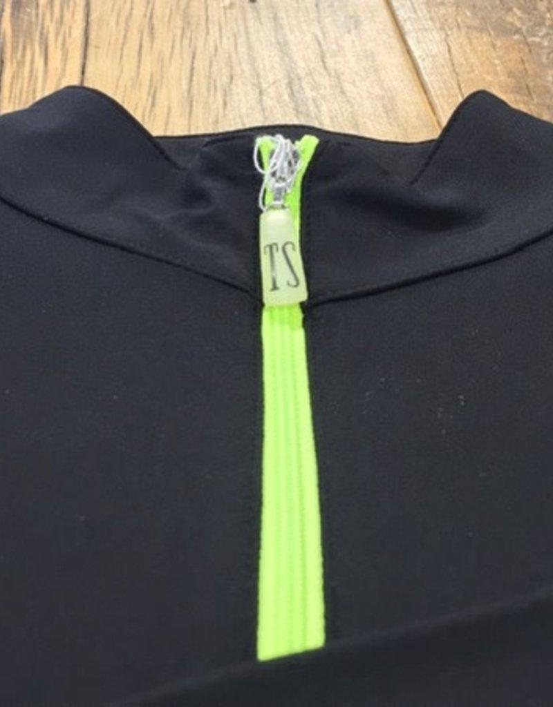 The Tailored Sportsman The Tailored Sportsman Ladies Icefil Long Sleeve Black/ Citrus