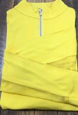 The Tailored Sportsman The Tailored Sportsman Ladies Icefil Long Sleeve Sunflower/ Gold White