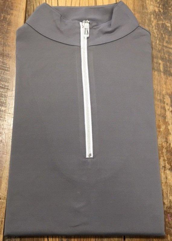 The Tailored Sportsman The Tailored Sportsman Ladies Icefil Long Sleeve Titanium/ Silver White