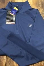 Ariat Ariat Women's Sunstopper 2.0 1/4 Zip Long Sleeve Marine Blue