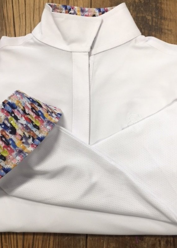 Ovation Ovation Kids Ellie Quarter Snap Long Sleeve Show Shirt
