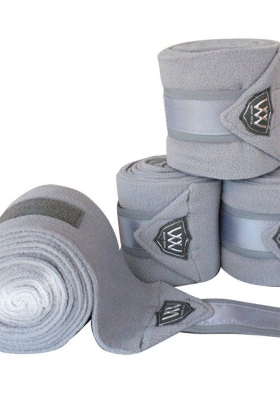 Woof Wear Woof Wear Vision Polo Wraps Brushed Steel