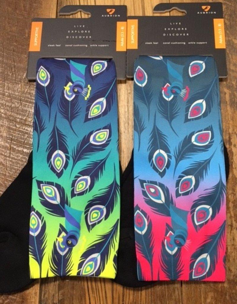 Shires Aubrion Hyde Park Peacock Socks