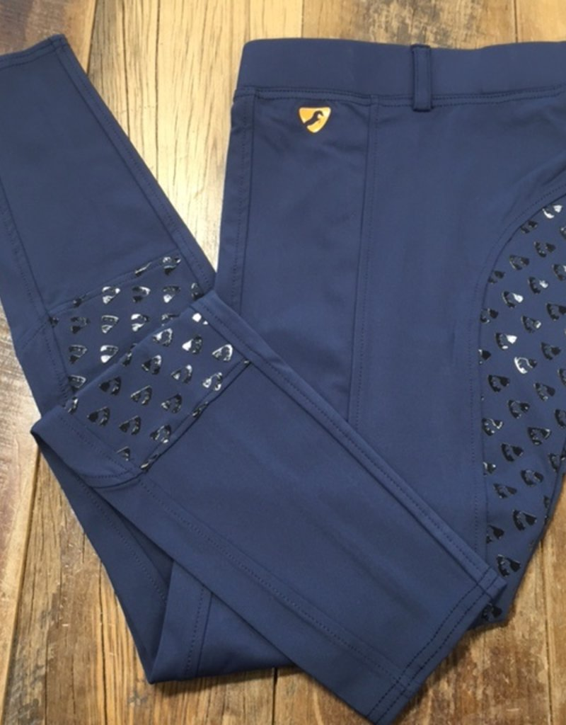 Shires Aubrion Albany Ladies Riding Tights Navy