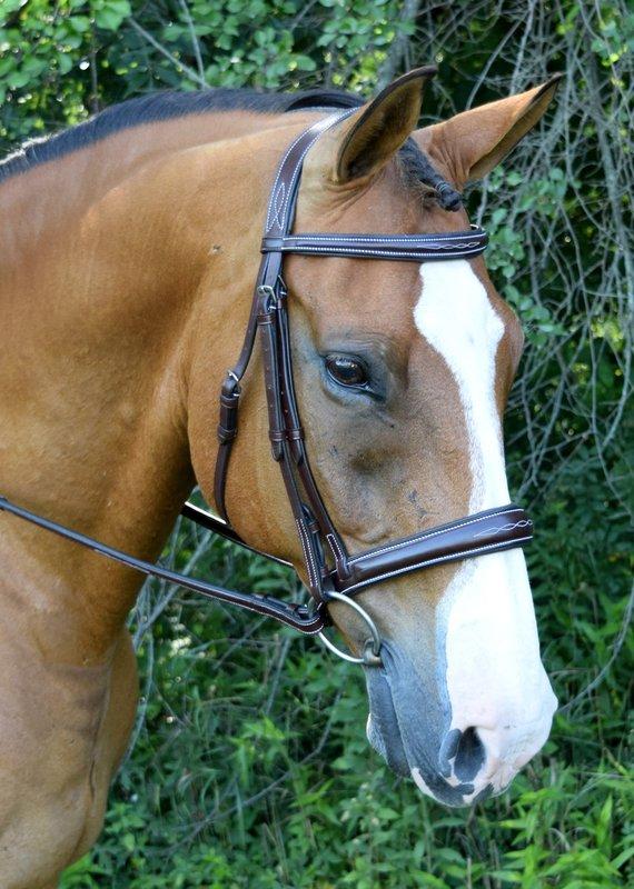 Red Barn Bridlework Red Barn Bridlework Ocala Hunter Bridle Horse Size