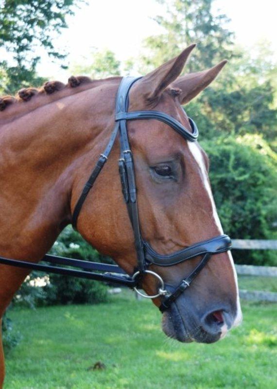 Red Barn Bridlework Red Barn Bridlework Arena Dressage Bridle Horse Size