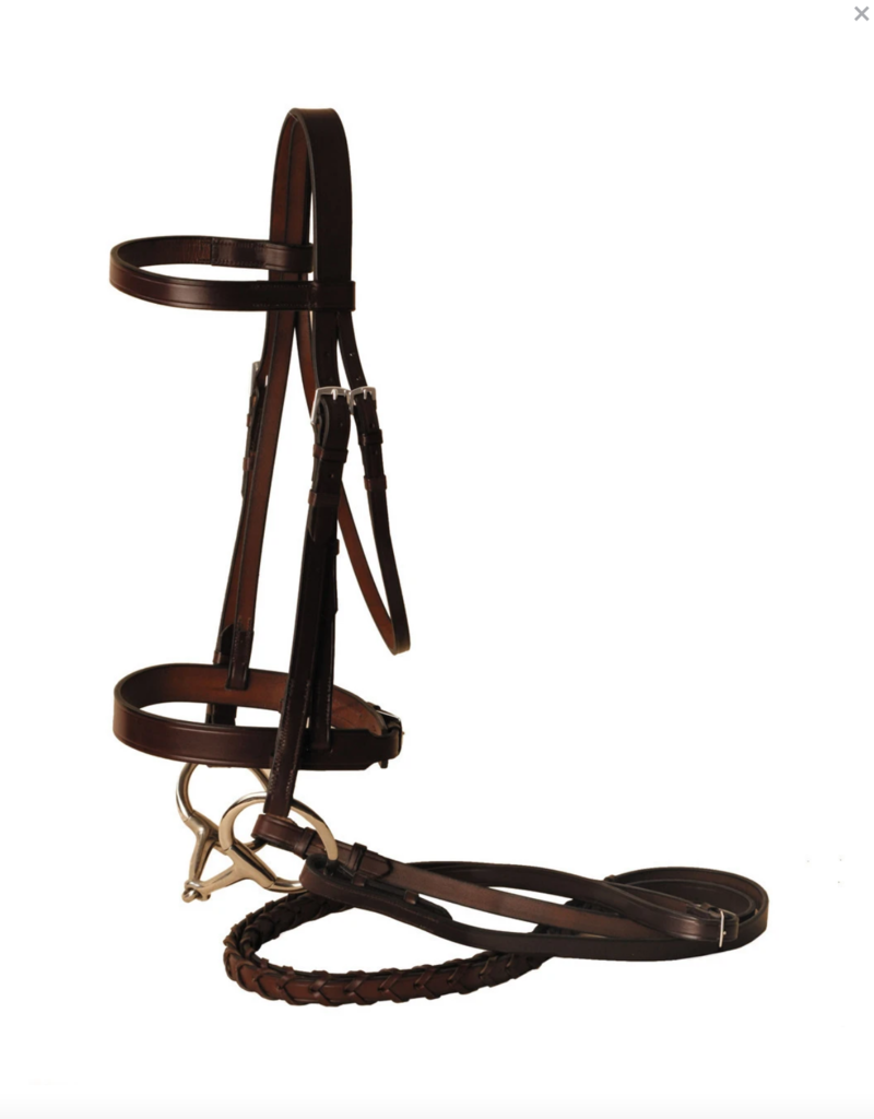 Tory Leather Tory Leather Co. Fox Hunt Bridle