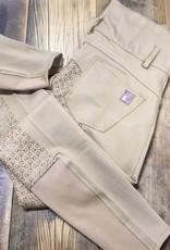 Horze Horze Tara Women's High-Waist Silicone Front Zip Breeches