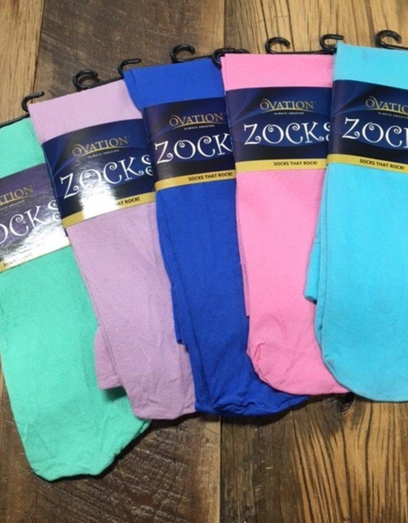 Ovation Ovation Zocks Boot Socks Solid Colors