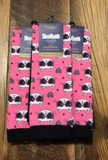 Ovation Ovation Footzees Boot Socks Cool Catz