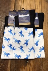 Ovation Ovation Performerz Boot Socks Blue Unicorns