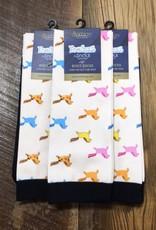 Ovation Ovation Footzees Boot Socks Chubby Ponies
